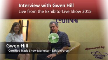 Interview with Gwen Hill – Live from the ExhibitorLive Show 2015