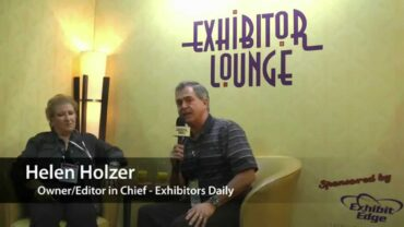 Interview with Helen Holzer from Exhibitors Daily – ExhibitorLive 2015