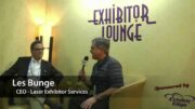 Interview with Les Bunge from Laser Exhibitor Services – ExhibitorLive 2015