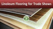 Linoleum Flooring for Trade Shows