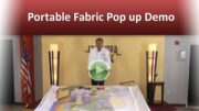 Portable Fabric Pop up Demo